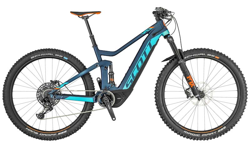 Electric full suspension MTB