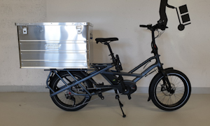 Electric cargo Medium capacity 186 liters - 25km/h